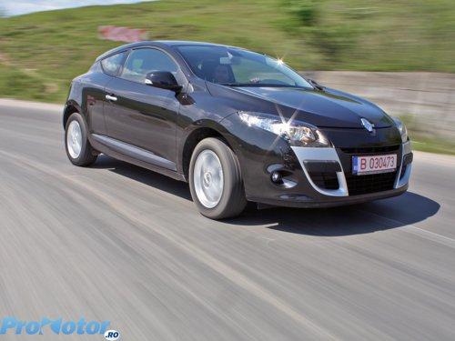 Renault Megane Coupe 1.6 16V - manevrabilitate si performante decente, nu sportive