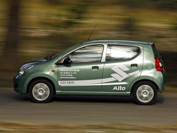 O maşină de oraş surprinzătoare: Suzuki Alto