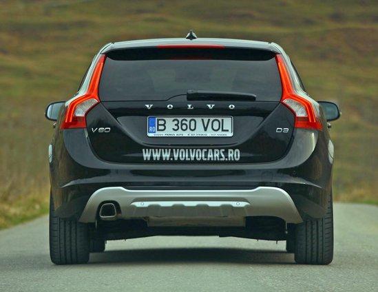 Stopurile lui Volvo V60 sunt inconfundabile noaptea