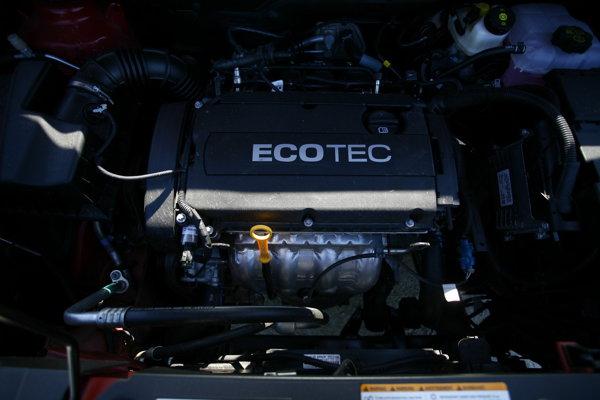 Motorul pe benzină de 141 CP este cunoscut de pe modelul Cruze