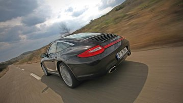 Test-drive cu Porsche 911 Targa 4