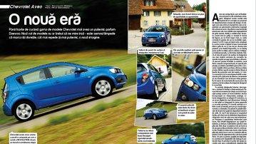 Test cu noul Chevrolet Aveo hatchback în Elveţia