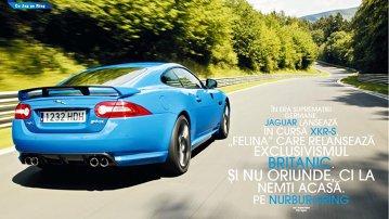 Test-drive cu Jaguar XKR-S pe Nurburgring