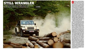 Test complet cu noul Jeep Wrangler