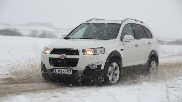 Am testat noul Chevrolet Captiva 2.2D 184 CP AWD