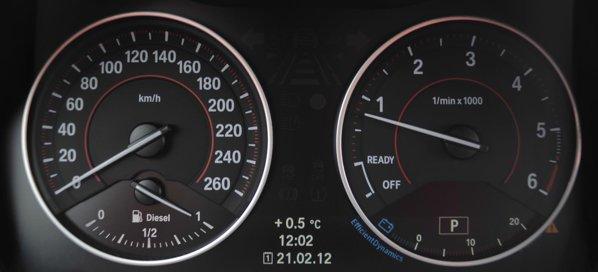 Eficienta cutiei automate de pe BMW 118d contribuie si la consumul scazut