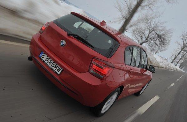 BMW 118d aut. este o masina foarte competenta, atuul fiind caracterul agreabil foarte bun