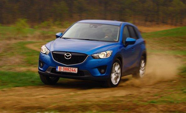 Mazda CX-5 se preteaza mai putin la iesirile in afara asfaltului