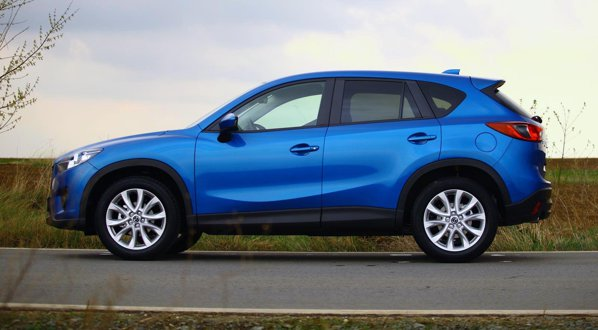 Mazda CX-5 imbina in designul sau agresivitatea, tineretea, eleganta is individualismul