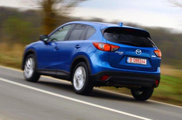 Mazda CX-5 are un tren de rulare excelent pentru domeniul actual al SUV-urilor compacte