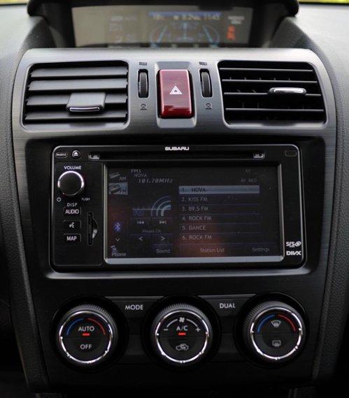 Ergonomie foarte buna in Subaru XV. Materialele insipra durabilitate