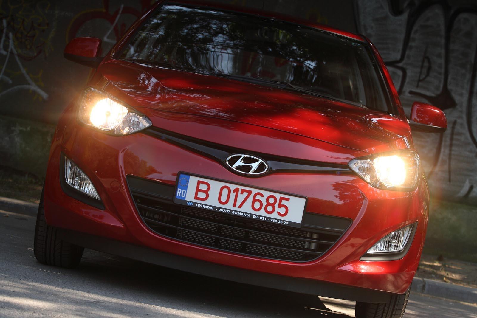Noul Hyundai I20 îl Face