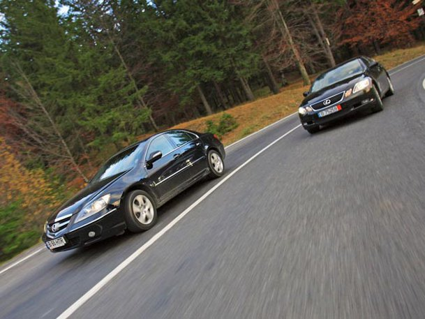 Honda Legend vs Lexus GS
