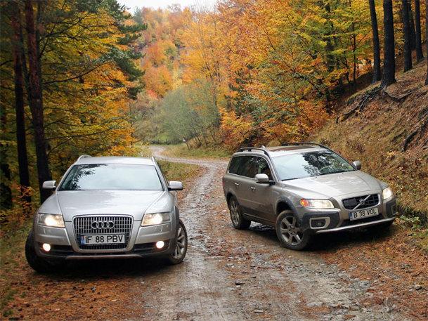 Volvo XC70 vs Audi Allroad