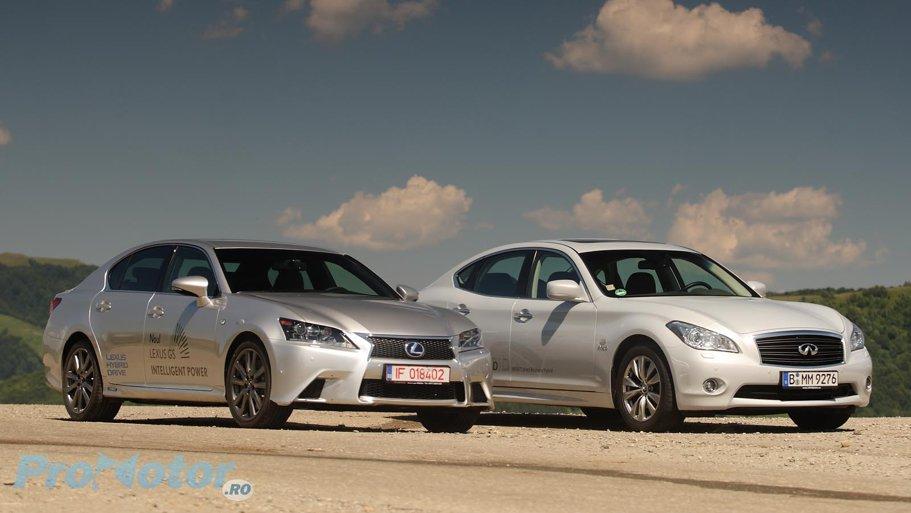 Lexus GS450h vs Infiniti M35h