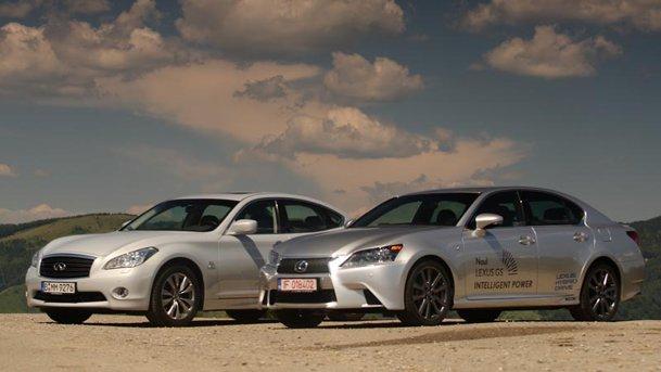ALTER ECO, ALTE REGULI: Lexus GS450h vs Infiniti M35h