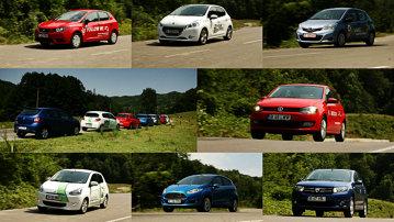 MEGA-COMPARATIV clasa mică: Fiesta vs Sandero, Spacestar, 208, Ibiza, Polo şi Yaris