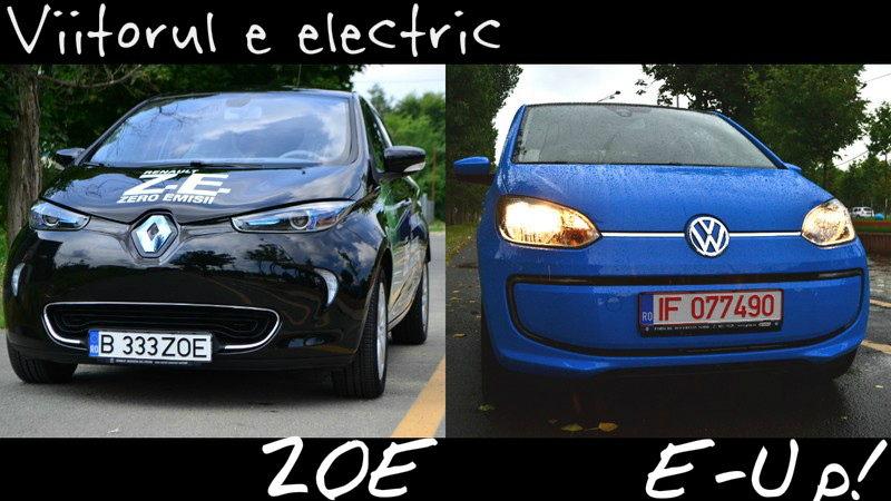 test renault zoe vs volkswagen e up ce fel de ma in electric s aleg. Black Bedroom Furniture Sets. Home Design Ideas