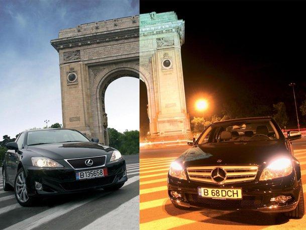 Mercedes Benz C-Klasse vs Lexus IS
