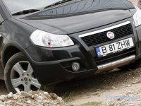 Fiat Sedici este mai agresiv