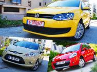 VW Polo vs Renault Clio vs Ford Fiesta - Exteriorul (I)