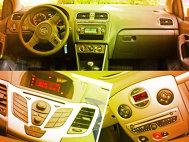 VW Polo vs Renault Clio vs Ford Fiesta - Interiorul (II)