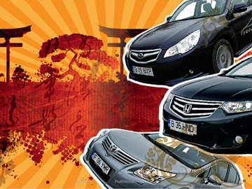 Subaru Legacy vs Honda Accord vs Toyota Avensis