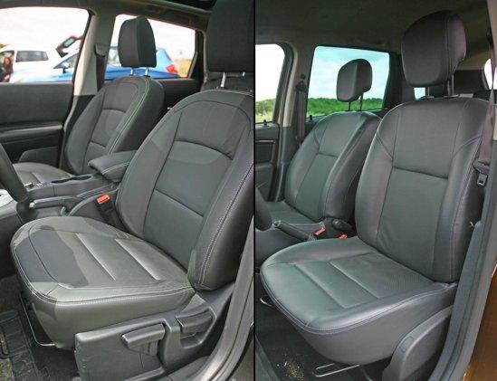 La Nissan Qashqai, tapiteria din piele este dotare standard pentru nivelul Tekna