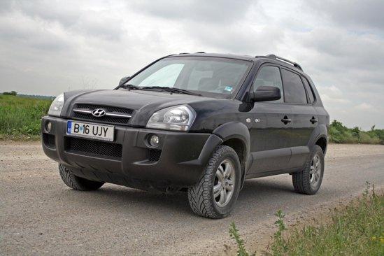 Un Hyundai Tucson in conditii bune costa intre 10 si 15.000 euro