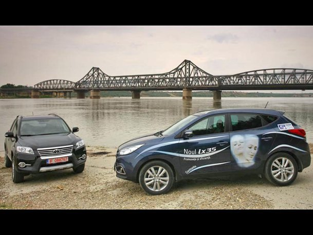 Comparativ Hyundai ix35 vs. concurenţa - Ep. I: ix35 vs. RAV4