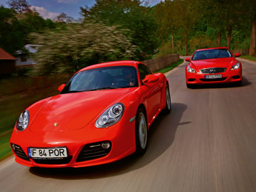 Test comparativ: Cayman vs. G37S