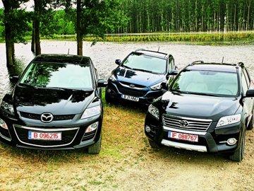 Hyundai ix35 înfruntă RAV4 şi CX facelift