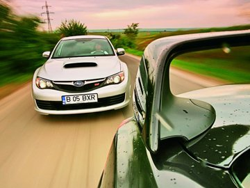 Subaru Impreza WRX STi vs. Mitsubishi Lancer Evolution