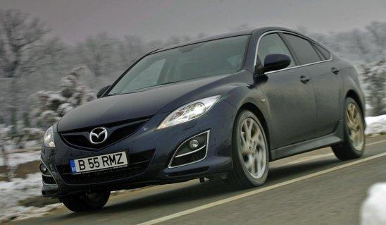 Mazda6 - pur si simplu e placut de condus, dar ofera si un confort remarcabil