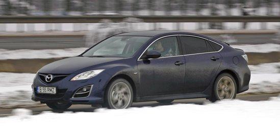 Mazda6 2.2 CD 163 are un motor de 163 CP cu un raspuns foarte bun la orice turatie