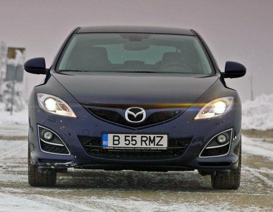 Mazda6 2.2 CD 163 este oferita doar in nivelul de echipare GTA, cu un pret de 25.990 euro