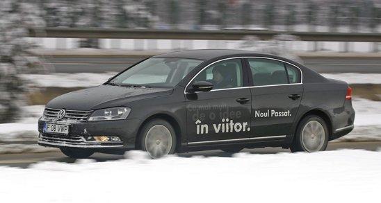 VW Passat 2.0 TDI 140 consuma mai putin cu 1 litru/100 km decat concurentii sai japonezi