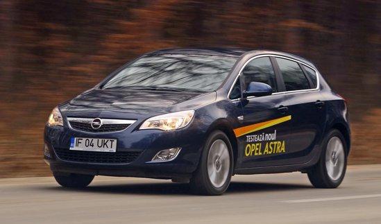 In cazul modelelor de test, Opel Astra era chiar mai confortabila decat Citroen C4