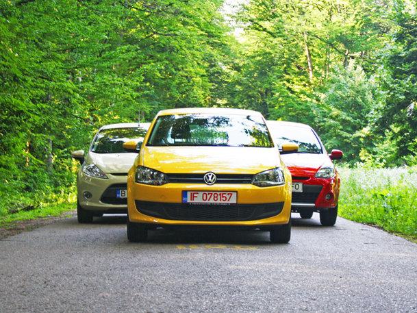 VW Polo vs Renault Clio vs Ford Fiesta