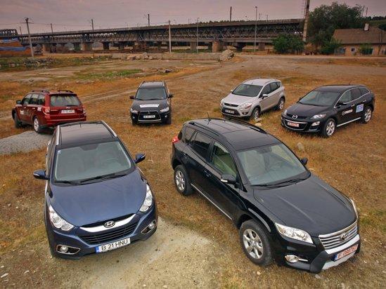 Ultimul duel din testul comparativ ProMotor: Subaru Forester vs. Hyundai ix35