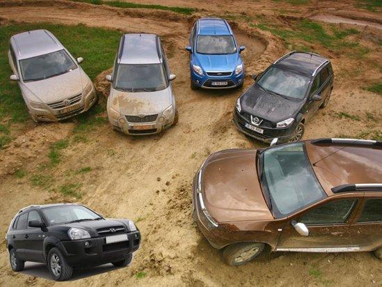 Dacia Duster vs. concurentii din clasa SUV-urilor compacte. Bonus - comparativ cu un SUV second hand