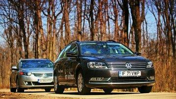 Volkswagen Passat Variant versus Honda Accord Tourer