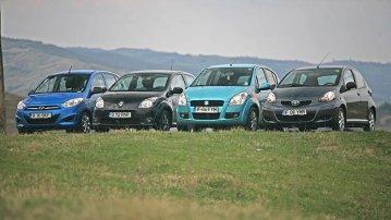 Test comparativ cu Renault Twingo şi concurenţa din clasa mini