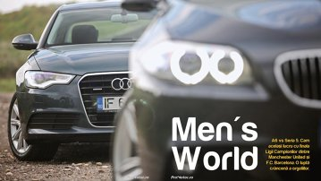 Test comparativ: Audi A6 versus BMW Seria 5
