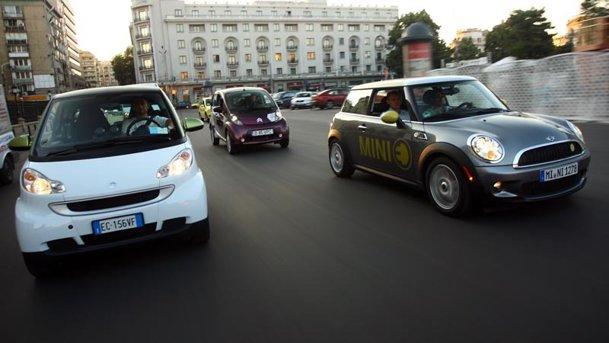 Primul comparativ cu maşini electrice din România!