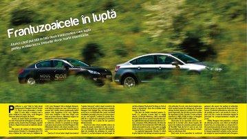 Test comparativ: Peugeot 508 versus Citroen C5