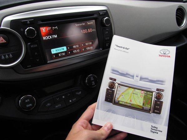 Sistemul Toyota Touch and Go costa 1.120 euro, dar merita