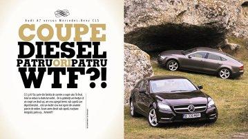 Test comparativ: Mercedes CLS versus Audi A7