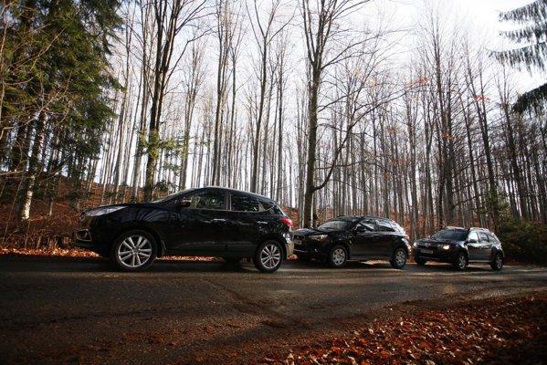 Hyundai ix35 are designul cel mai complex, dar si gabaritul cel mai mare din test