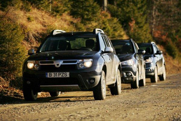 Dacia Duster are un stil mai simplist, dar si foarte pragmatic si spatios